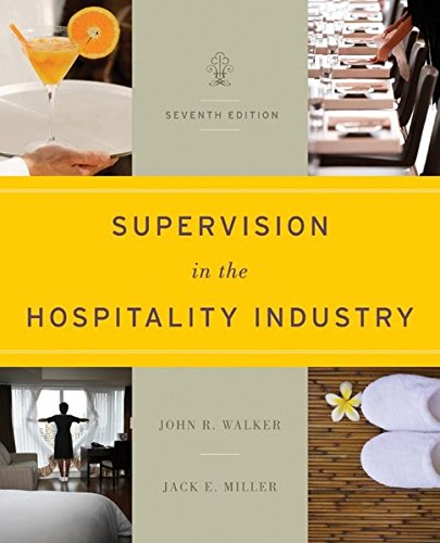 9781118071786: Supervision in the Hospitality Industry