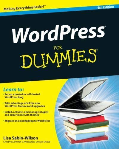 9781118073421: WordPress For Dummies, 4th Edition