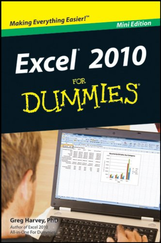 9781118074770: Excel 2010 for Dummies Mini Edition
