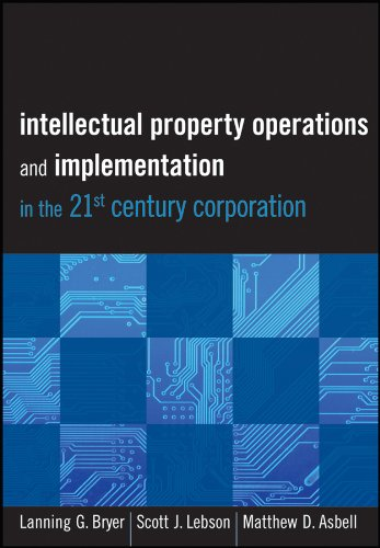 9781118075876: Intellectual Property Operations and Implementation in the 21st Century Corporation