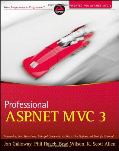 9781118076583: Professional ASP.NET MVC 3