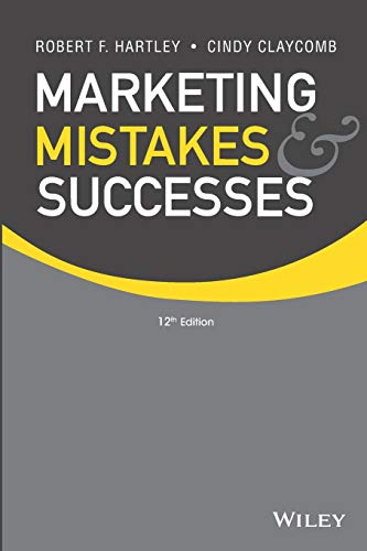 9781118078464: Marketing Mistakes and Successes