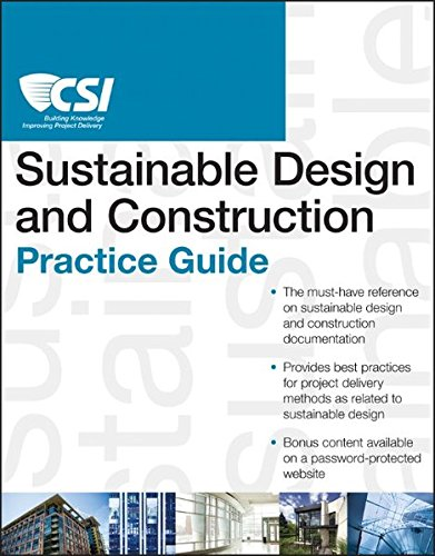 9781118078556: The CSI Sustainable Design and Construction Practice Guide (CSI Practice Guides)