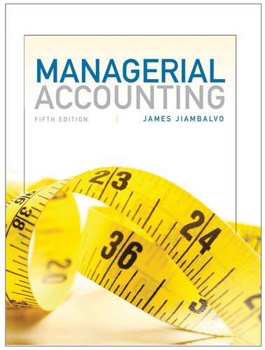 9781118078761: Managerial Accounting
