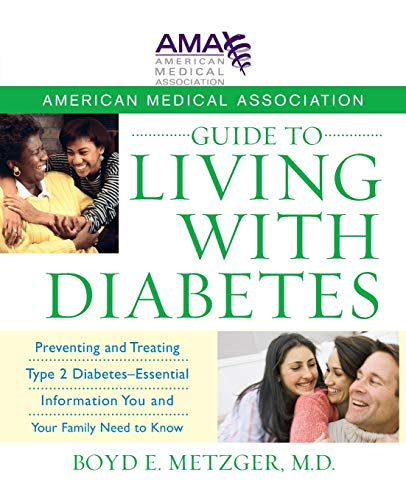 9781118083437: American Medical Association Guide to Living With Diabetes