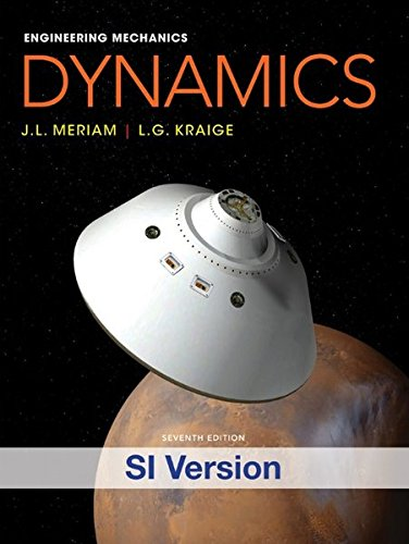 9781118083451: Meriam Engineering Mechanics: Dynamics (Engineering Mechanics Volume 2 2)