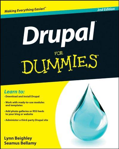 9781118083482: Drupal For Dummies
