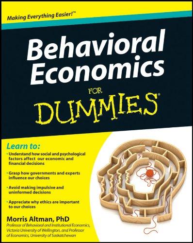 9781118085035: Behavioral Economics For Dummies