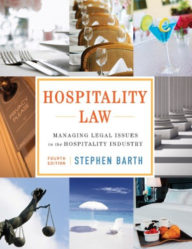 9781118085639: Hospitality Law: Managing Legal Issues in the Hospitality Industry