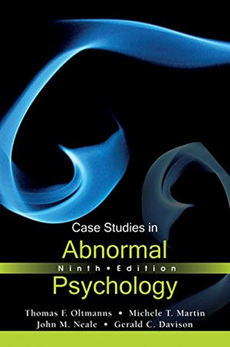 9781118086193: Case Studies in Abnormal Psychology