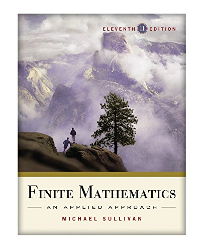 9781118091142: Finite Mathematics: An Applied Approach 11e + WileyPLUS Registration Card
