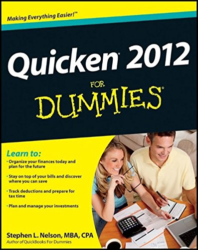 Quicken 2012 For Dummies (1118091213) by Nelson, Stephen L.