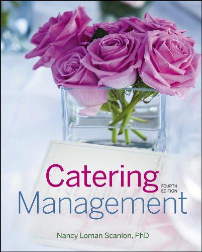 Catering Management: Scanlon, Nancy Loman