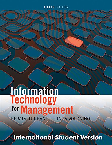 Efraim Turban Linda Volonino Abebooks