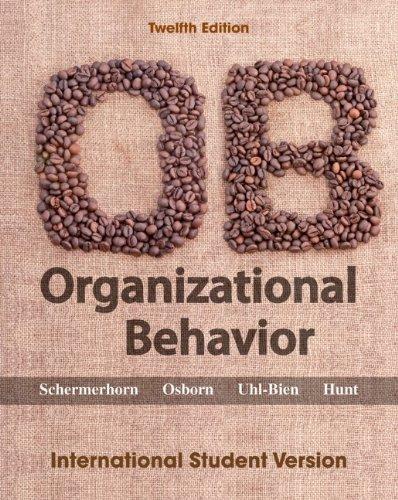 9781118092316: Organizational Behavior
