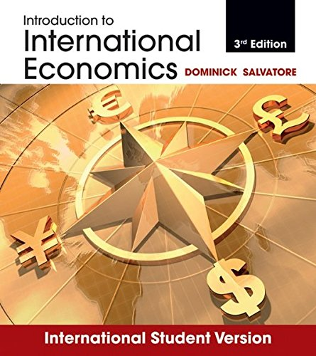 9781118092323: Introduction to International Economics, 3rd Edition International Student: International Student Version