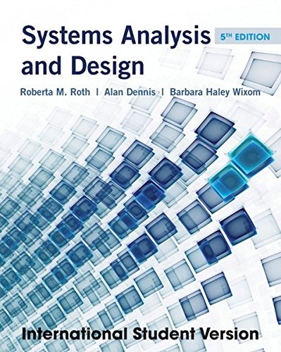 9781118093740: Systems Analysis and Design.