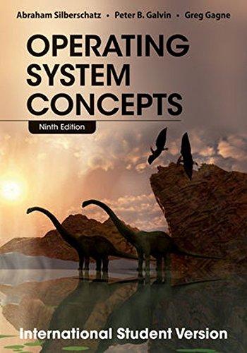 Operating System Concepts: Silberschatz, Abraham