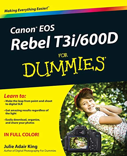 9781118094983: Canon EOS Rebel T3i / 600D For Dummies