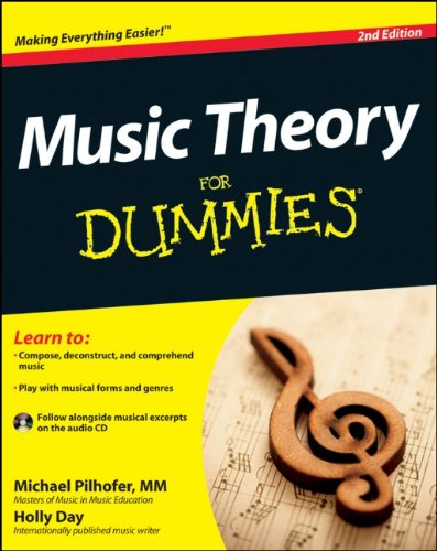 9781118095508: Music Theory For Dummies: with Audio CD