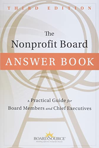 9781118096116: The Nonprofit Board Answer Book: A Practical Guide for Board Members and Chief Executives