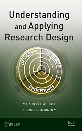 9781118096482: Understanding and Applying Research Design