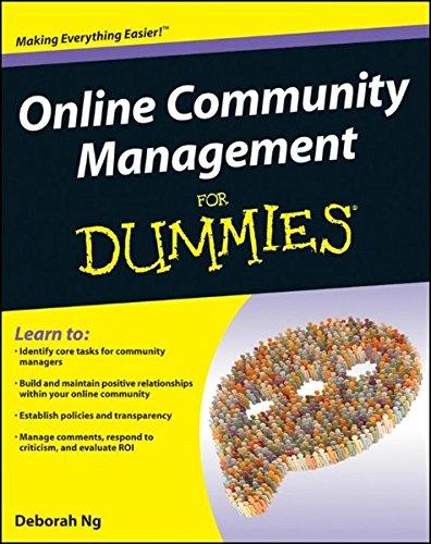 9781118099179: Online Community Management For Dummies