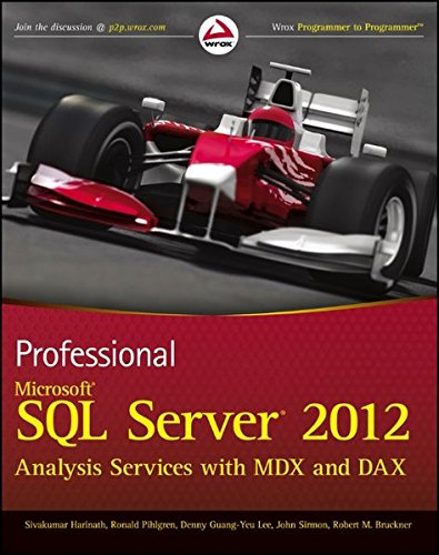 9781118101100: Professional Microsoft SQL Server 2012 Analysis Services with MDX and DAX