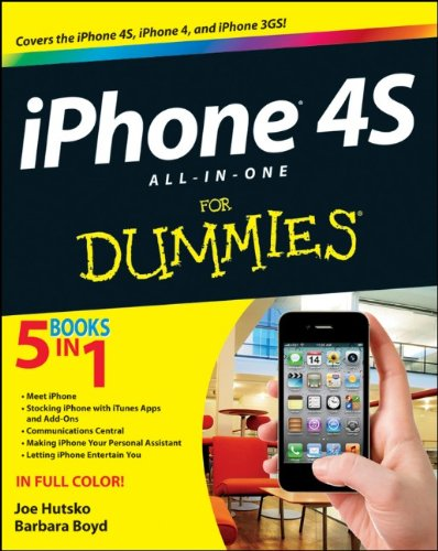 9781118101193: iPhone 4S All-in-One For Dummies
