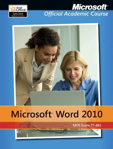 9781118101261: Microsoft Word 2010, 77-881