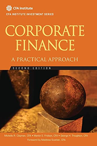 9781118105375: Corporate Finance: A Practical Approach