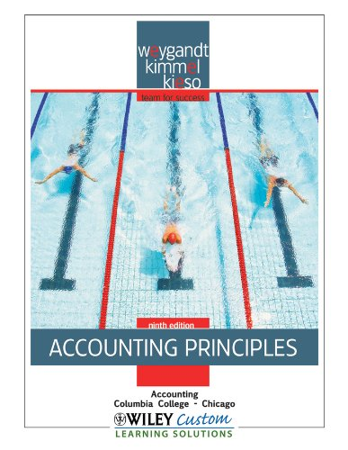 9781118106396: Accounting Principles 9th Edition for Columbia-Chicago