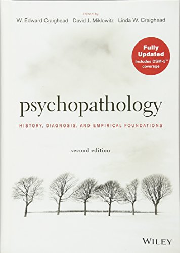 9781118106778: Psychopathology: History, Diagnosis, and Empirical Foundations