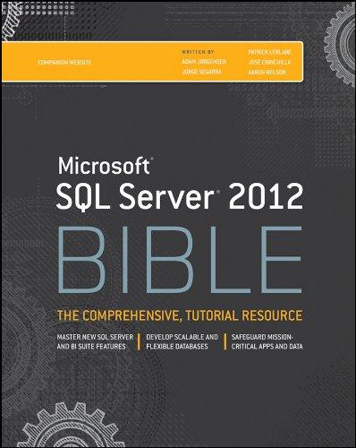 9781118106877: Microsoft SQL Server 2012 Bible