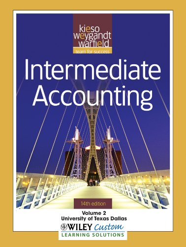 9781118107119: Intermediate Accounting, Vol. 2, 14th Edition