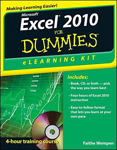 9781118110799: Excel 2010 eLearning Kit For Dummies