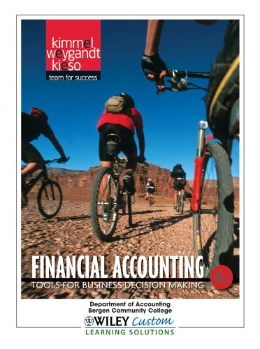 9781118110850: Financial Accounting 6th Edition for Bergen CC