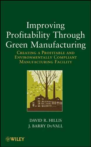 9781118111253: Improving Profitability Through Green Manufacturing: Creating a Profitable and Environmentally Compliant Manufacturing Facility