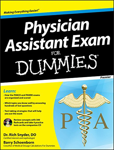9781118115565: Physician Assistant Exam For Dummies: with CD