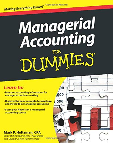 9781118116425: Managerial Accounting For Dummies