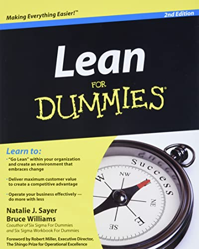 Lean For Dummies (9781118117569) by Natalie J. Sayer; Bruce Williams