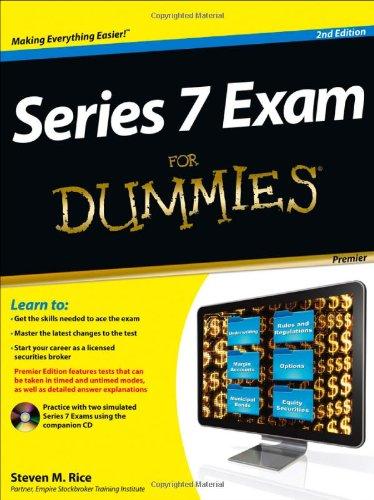 9781118117576: Series 7 Exam For Dummies