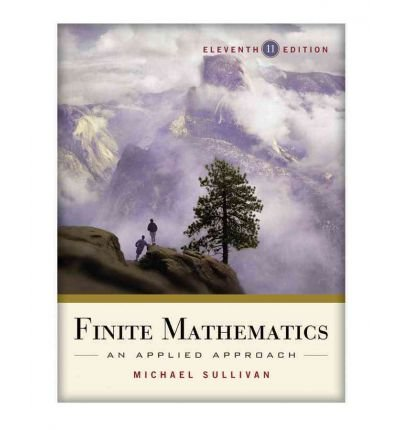 9781118117675: Finite Mathematics: An Applied Approach 11e