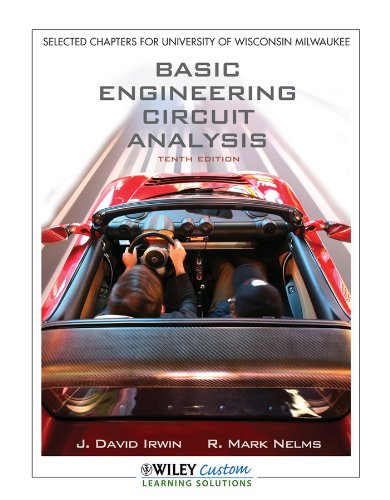 9781118118924: Basic Engineering Circuit Analysis 10th Edition for UWMadison