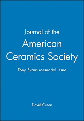 9781118119174: Journal of the American Ceramics Society: Tony Evans Memorial Issue