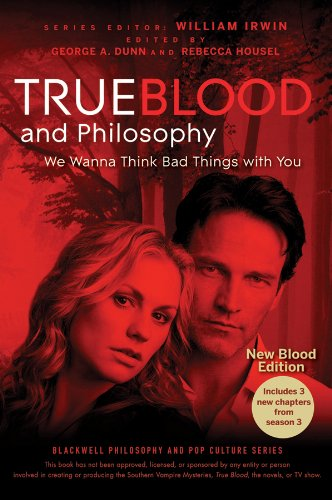 True Blood and Philosophy (The Blackwell Philosophy and Pop Culture Series) (1118119290) by William Irwin; George A. Dunn