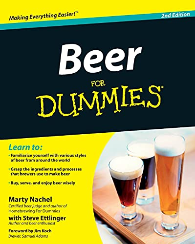 9781118120309: Beer for Dummies, 2nd Edition