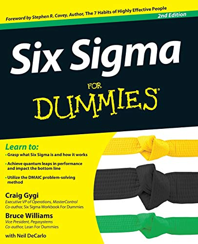 9781118120354: Six Sigma For Dummies, 2nd Edition
