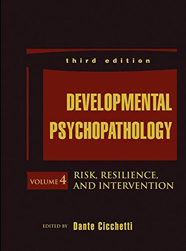 9781118120934: Developmental Psychopathology, Risk, Resilience, and Intervention (Volume 4)