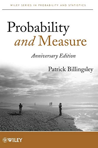 9781118122372: Probability and Measure (Wiley Series in Probability and Statistics)